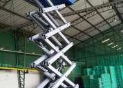 elevadores eléctricos de plataforma tipo tijera usado en venta en ecuador