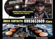 Imprenta cd/dvd y copiado
