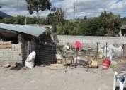 Vendo lote esquinero en chaltura