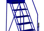 Escaleras industriales tipo aviÓn para uso industrial