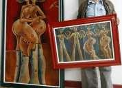 """Cuadro artístico """"asunto de tolerancia"""" de diego buitrón"""