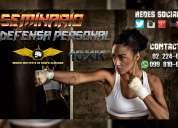 Clases  de artes marciales y defensa personal