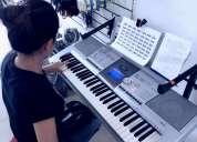 Curso de guitarra, piano, baterÍa, violÍn, bajo o ukelele