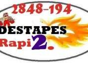 Destapes seguros & rapidos sin romper todoquito...! 311 25 35