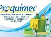 Proquimec venta de productos quimicos en guayaquil