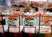 Amaranta catering & eventos organización, planificacion bodas, 15 años, bautizos, cumpleaños