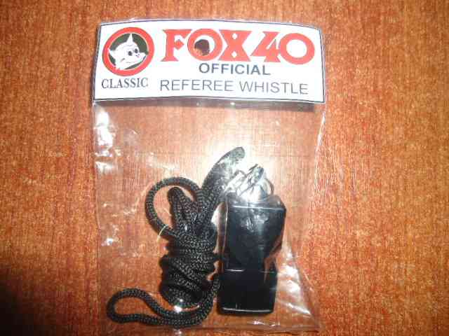 PITOS PARA ARBITRO FOX 40 CLASSIC WHISTLE