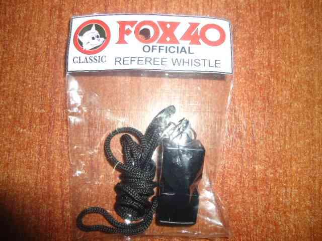 PITOS PARA ARBITRO FOX 40 CLASSIC WHISTLE