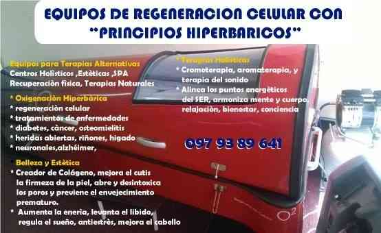 Camaras hiperbaricas Regeneracion