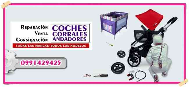 Reparación de coches para bebe guayaquil Ecuador Reparamos Coches Corrales Andadores Porta bebe etc