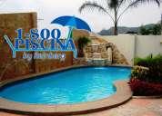Construccion de piscinas con cascada sauna jacuzzi a nivel nacional