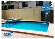 Construccion y remodelacion de piscina cascada jacuzzi sauna a nivel nacional