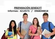 Cursos de preparaciÓn examen senescyt