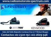 Distribuidores de radios motorola en ecuador : spectrum