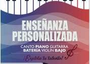 Clases de piano, canto, guitarra, batería, violín. barrio centenario. 0967796319