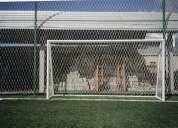 Redes para arcos de fÚtbol a la medida de su arco en nylon con protecciÓn uv