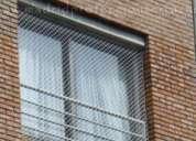 Mallas para proteccion de balcones y ventanas en nylon