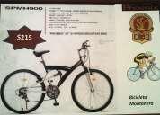 Bicicleta montaÑera 215 precio negociable