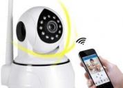 Cámara robótica wifi doble antena visión por celular,  contactarse.