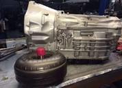 Cajas de cambios y transmisiones automáticas reconstruidas o reparadas.