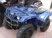 Yamaha grizzly 350 azul 4x4. contactarse.