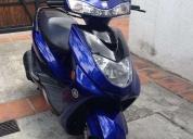 Hermosa moto scooter yamaha cygnus z 125cc