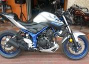 Vendo motocicleta yamaha mtn320 nueva
