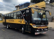Vendo flamante bus escolar. buen estado.