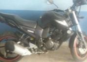 Una moto en buen estado.