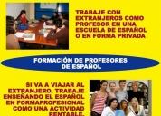 FormaciÓn de profesores de espaÑol. contactarse.