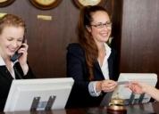 Excelente hotel busca srta recepcionista