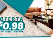Oferta 0,98 el m2 en lavado de alfombras