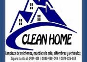 Lavado profesional de muebles, alfombras, sillas