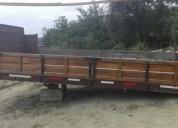 Se vende plataforma de madera, aprovecha ya!