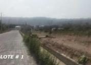 Se vende terrenos en guayllabamba. aprovecha ya!