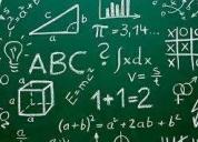 Dicto clases a domicilio de matematica