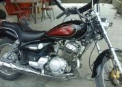 Vendo excelente moto yamaha modelo yba enticer
