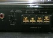 Potencia sony xplod de 250w modelo xmzr602, contactarse.