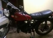 Vendo moto yamaha trail 125. contactarse.