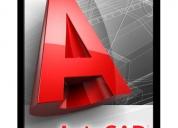 Oportunidad!, cursos de autocad en 2d y 3d permanentes