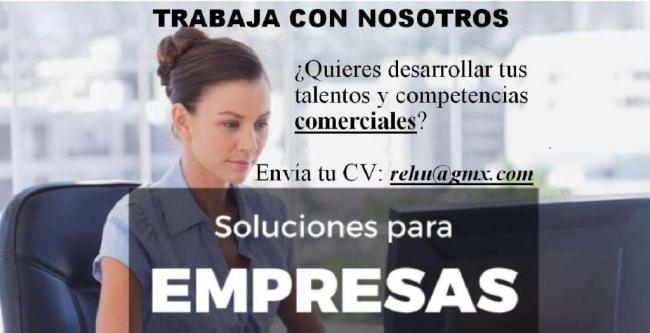 OPORTUNIDAD! EJECUTIVO/A COMERCIAL Negocios