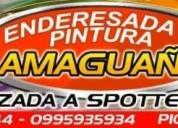 Oportunidad! taller de enderezada  pintura amaguaÑa