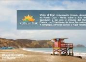 Lotes de terreno en venta en puerto cayo manta manabi ecuador