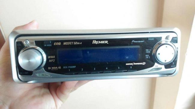 Radio pioneer AM FM CD MP3 WMA modelo DehP460mp.