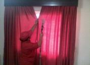 Limpio y lavo cortinas muebles colchones alfombras