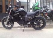 Vendo excelente moto fz16 negra