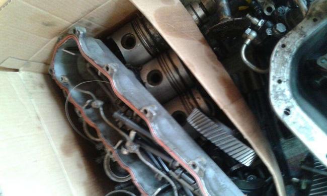 Vendo Excelente partes de motor hino