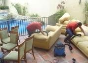 Lavado y desinfección de alfombras, muebles, sillas, butacas