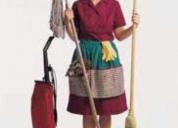empleada domestica, solo extranjera.