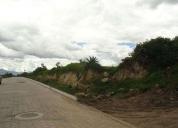 Vendo excelente terrenos en quinchuqui